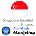 Singapore Targeted Spotify Plays Promotion Package