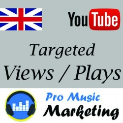 UK Targeted YouTube Views