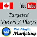 CANADA Targeted YouTube Views