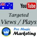 Australia Targeted YouTube Views