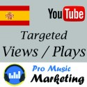 Spain Targeted YouTube Views