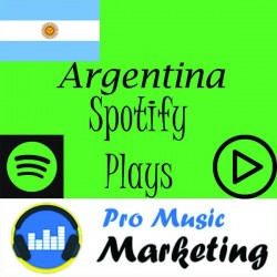 Argentina Targeted Spotify Plays Promotion Package